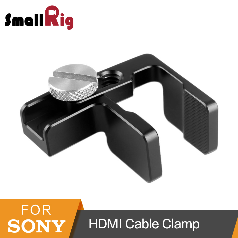 SmallRig HDMI Cable Clamp For DSLR Camera Cage (1661/1889/1620/1633) - 1822