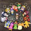 16 estilo Digimons Figura Brinquedos de Ação Agumon Gabumon Koromon Tanemon Gomamon Piyomon Patamon Pyocomon Bonecas Com Chaveiros Pingente