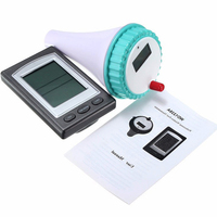 Wireless Floating Digital Waterproof Swimming Pool SPA Floating Thermometer Temperature Meter With Receiver LCD Display