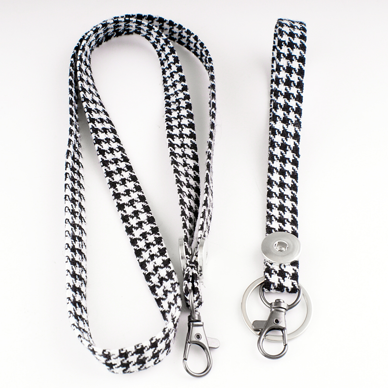 Keychain Necklace Jewelry-Set Keyring High-Quality DIY 18mm Belt Package MF4577 Phone-Band