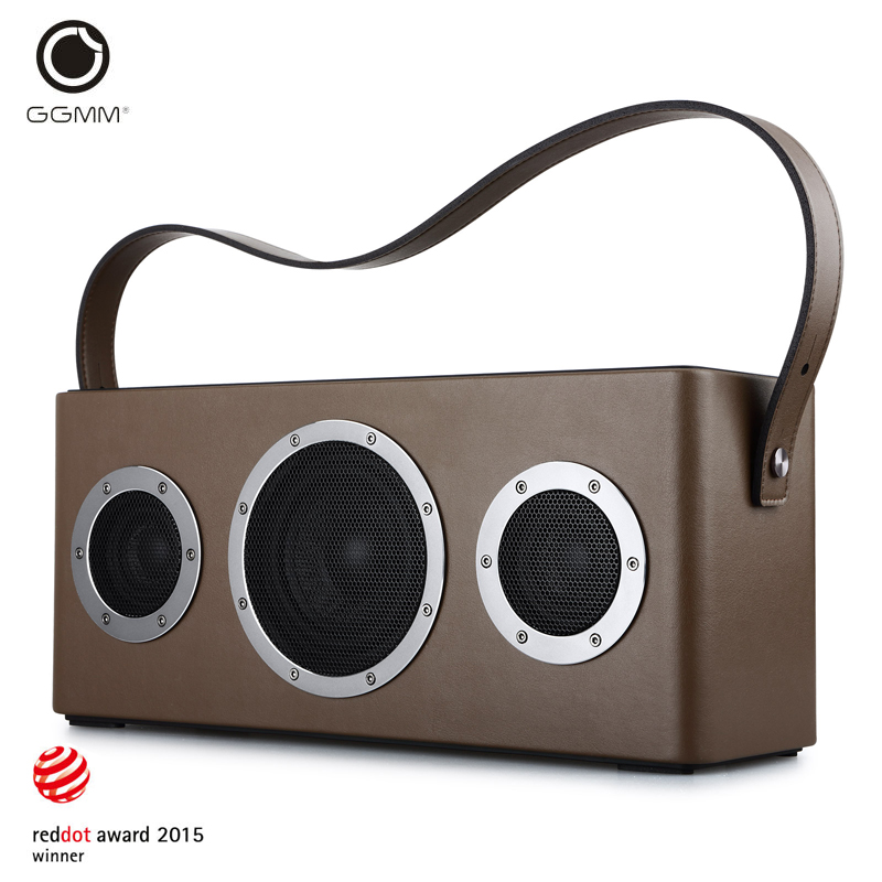 GGMM M4 Bluetooth Speaker Portable Speaker Wireless WiFi Speaker Audio HiFi HiFi Stereo Sound with Bass for iOS Android Windows tronsmart element t6 mini bluetooth speaker portable wireless speaker with 360 degree stereo sound for ios android xiaomi player
