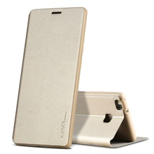 for Huawei P9 Lite/G9 Lite Phone Case X-LEVEL FIB II Series Leather Flip Cover Built-in Manganese Steel Sheetfor Huawei P 9 Lite