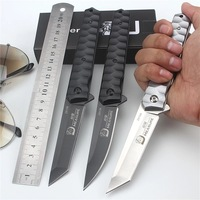 2017 New Fixed Survival Folding Pocket Knife Utility Steel Tactical Camping Portable Knives Outdoor Combat EDC