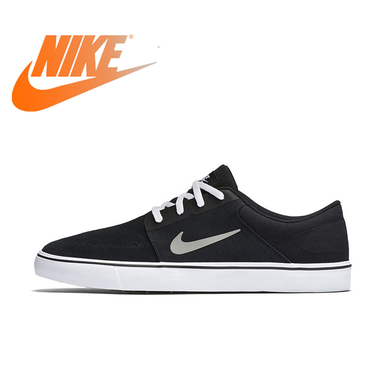 Official NIKE SB PORTMORE Mens Breathable Skateboarding Shoes Sports Sneakers Outdoor Designer Trainers 2018 New ArrivalOfficial NIKE SB PORTMORE Mens Breathable Skateboarding Shoes Sports Sneakers Outdoor Designer Trainers 2018 New Arrival