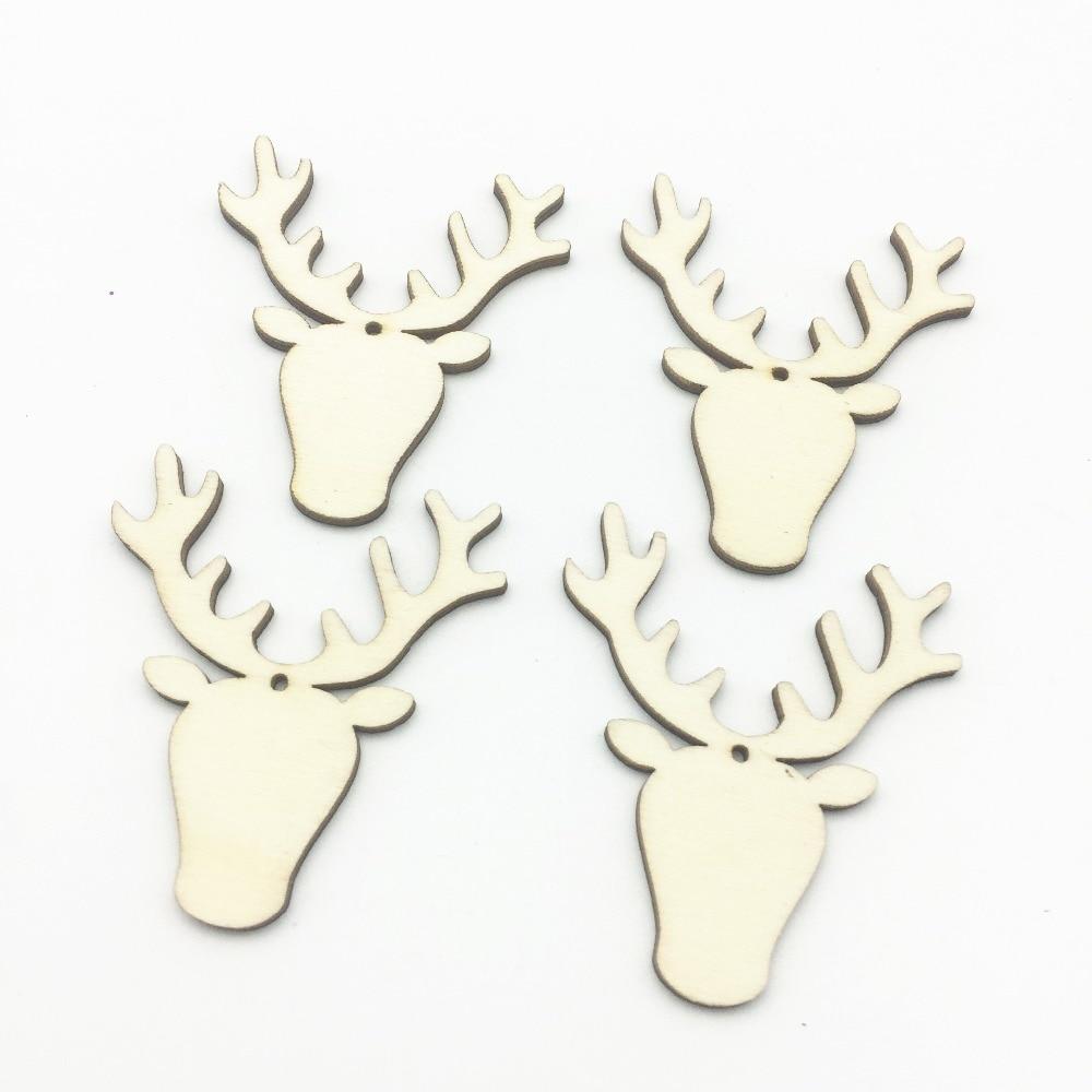 Reindeer Stag Head Christmas Decoration