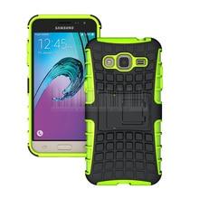 Heavy Duty Armor Shockproof Hard Case Cover For Samsung Galaxy J3 2016 J320 J320F J320P J3109 J320M J320Y/Sol With Films+Stylus