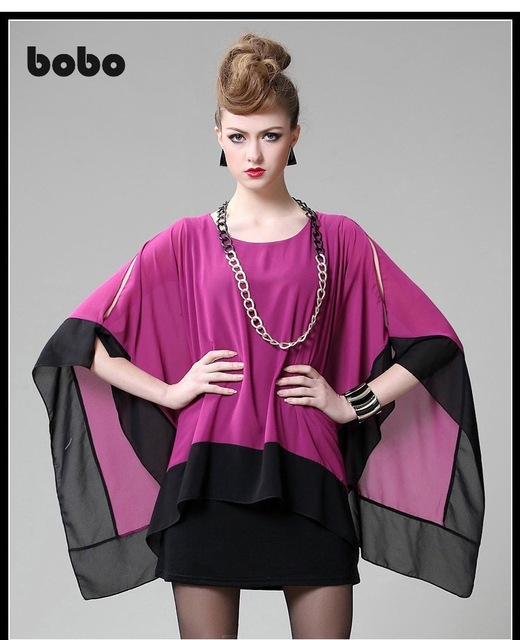 Bobo 2015 mujeres se visten de gasa poncho moda vestidos gasa de ...