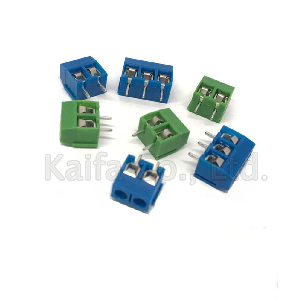 5/10 Pcs/lot KF301-5.0-2P KF301-3P KF301-4P Pitch 5.0mm Straight Pin 2P 3P 4P Screw PCB Terminal Block Connector fs22sm 10 to 3p