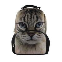 Fashion Children 3D Animal Cat School Bags Cute Zebra Panda School Bag for Girls Women Schoolbag Casual Bookbag Mochila Feminina