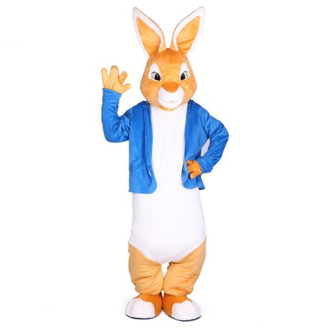 Lapin Peter costumes mascotte noël unisexe mascottes costume élégant robe pour adultes complet tenue halloween pourim soirée