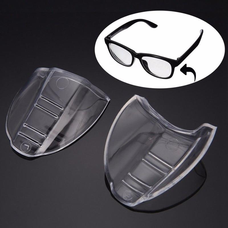 2 Protectores Laterales de Seguridad para Gafas universales y Transparentes para Gafas de Seguridad Unisex