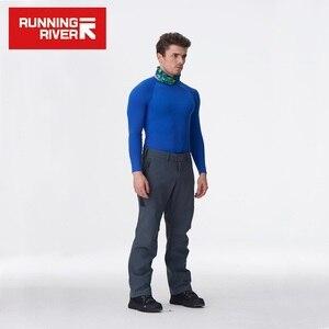 Image 3 - KOŞU NEHIR Marka yürüyüş pantolonu Erkekler Için Boyutu S 3XL Gemi Rusya ve Çin Sıcak Kış Yüksek Kaliteli Kamp pantolon # P4457