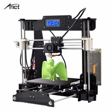 Anet A8 Desktop 3D Printer Prusa i3 DIY Kit LCD Screen Large Printing Size Electronic Imprimante High Precision 3D Printer