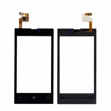 10pcs/lot 100% Brand new Front Panel & Touch Screen Digitizer for Nokia Lumia 520 touchpal Replacement  free shipping