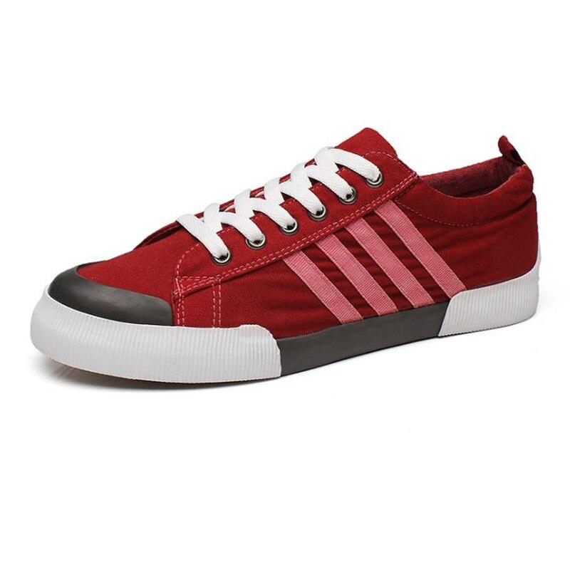 2018 NOVI stil Muške platnene cipele Ravne tenisice Tenisice - Muške cipele - Foto 5