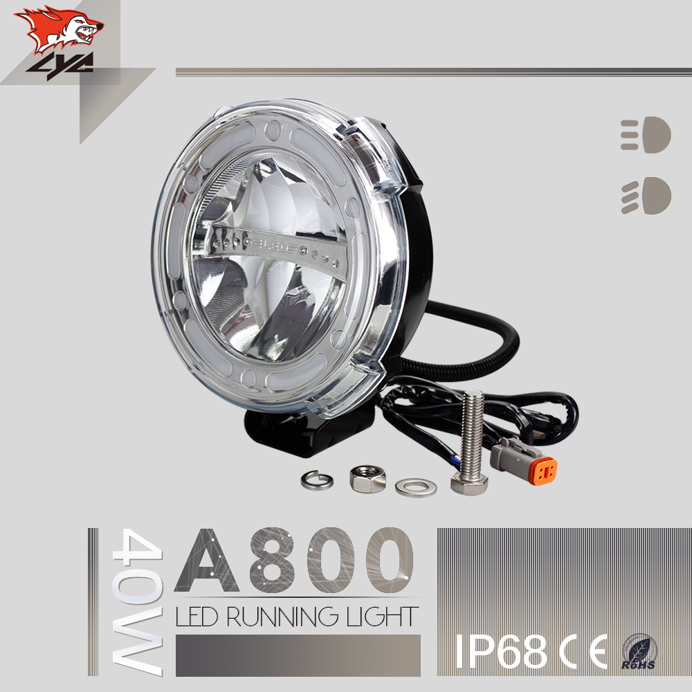 Guangzhou Auto Parts LYC Automotive Led Light 12 volt For Hanma Trucks SUV High Beam Low Beam 2016 New Product Die-cast Aluminum ip67 die cast aluminum alloy module ac100v 110v 220v 200w led high mast tunnel stadium flood light fixture