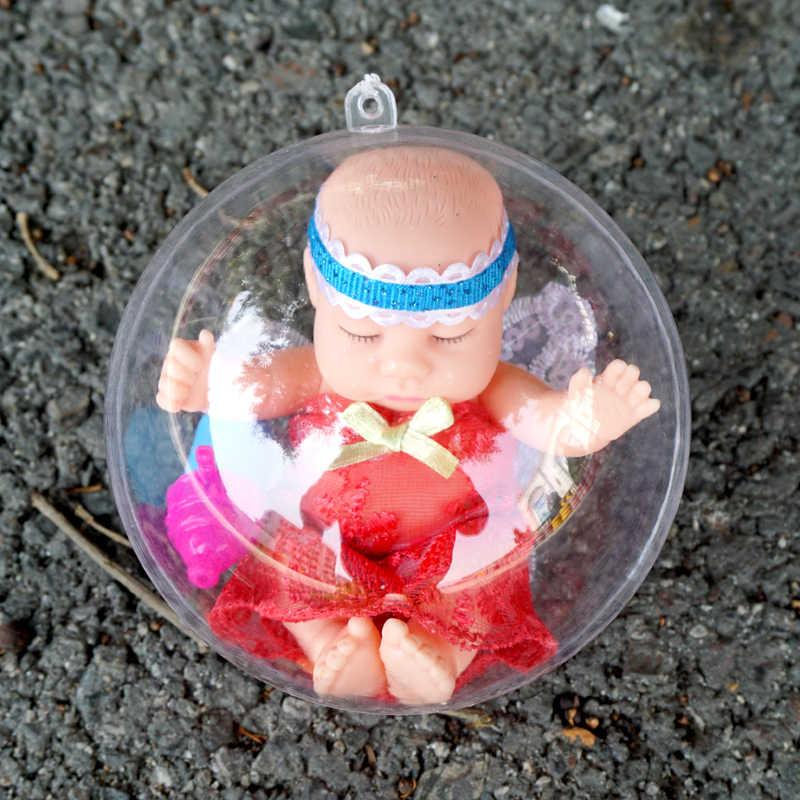 نابض بالحياة النوم الطفل اليدوية تولد من جديد بيبي دمية الكرة واقية قذيفة جميل طفل سيليكون الأميرة فتاة بوي دميات لعبة للأطفال