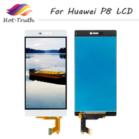 Hot Truth 1 PCS Free Shipping LCD Screen For Huawei P8 LCD Display Touch Screen Digitizer