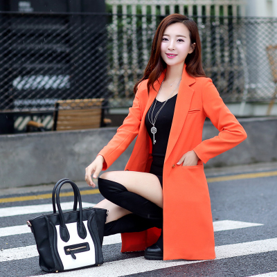 Sheinside Casual Orange Single Button Kerb Kragen Blazer Frauen 2019 Frühling Doppel Tasche Blazer Damen Solide Trim Blazer Anzüge & Sets Frauen Kleidung & Zubehör