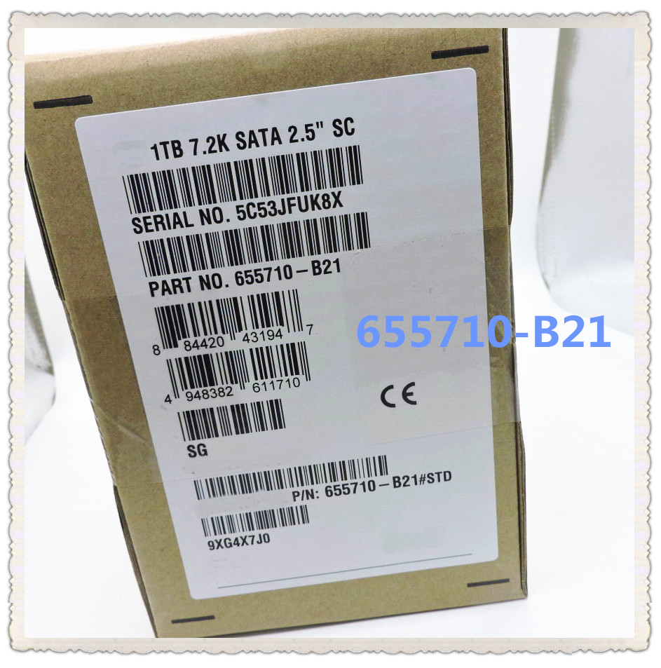 655710 B21 1T 2 5 SATA 656108 001 Ensure New in original box Promised to send