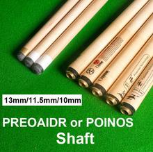 PREOAIDR 3142 POINOS Pool Cue Stick Shaft 13mm/11.5mm/10mm Tip Professional Billiard Kit Maple Billar Black 8 China 2019