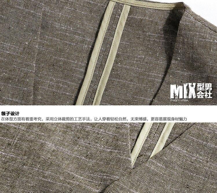 2017 Men new spring fashion printing linen vest Mens summer slim casual high quality vest men hot sale British style suit vest