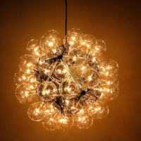 Taraxacum 88 S1 suspension light 20/ 40/ 60 bulbs Design by Achille Castiglioni pendant lamp