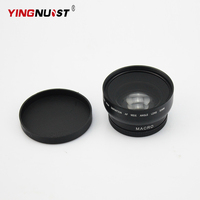 YINGNUOST 52mm 0 43X Macro HD Definition AF Wide Angle Camera Lens For Nikon Canon D5000