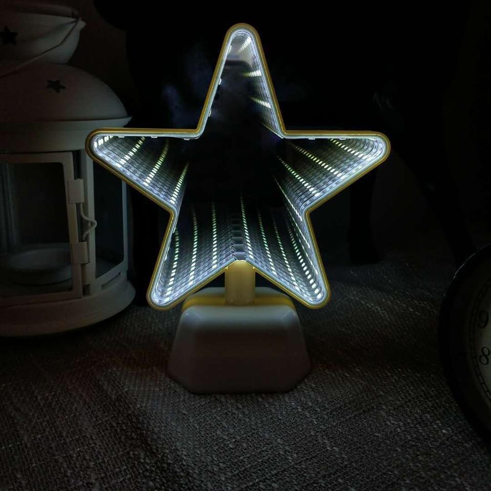 Infinity-Mirror-Lamp - 3D-LED-Lamp-diamond-minecraft