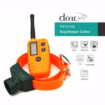 100% Original Hunter Pet Training Dog Beeper Collar Rechargeable, LCD Electric Remote Dog Training Collar For Hunter Beeper