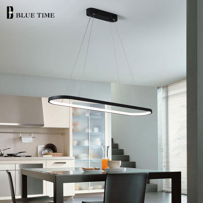 Offre spéciale moderne pendentif lumières pour chambre salon salle à manger bureau chambre luminaire Creative pendentif LED lampe entrée 110 V 220 V