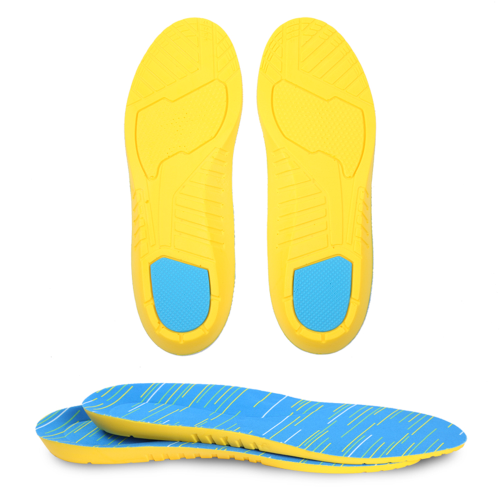 MWSC New Thick PU Insoles Foot Care for Men Shock Absorption Male Shoes Insoles Light Weight Shoepad expfoot orthotic arch support shoe pad orthopedic insoles pu insoles for shoes breathable foot pads massage sport insole 045