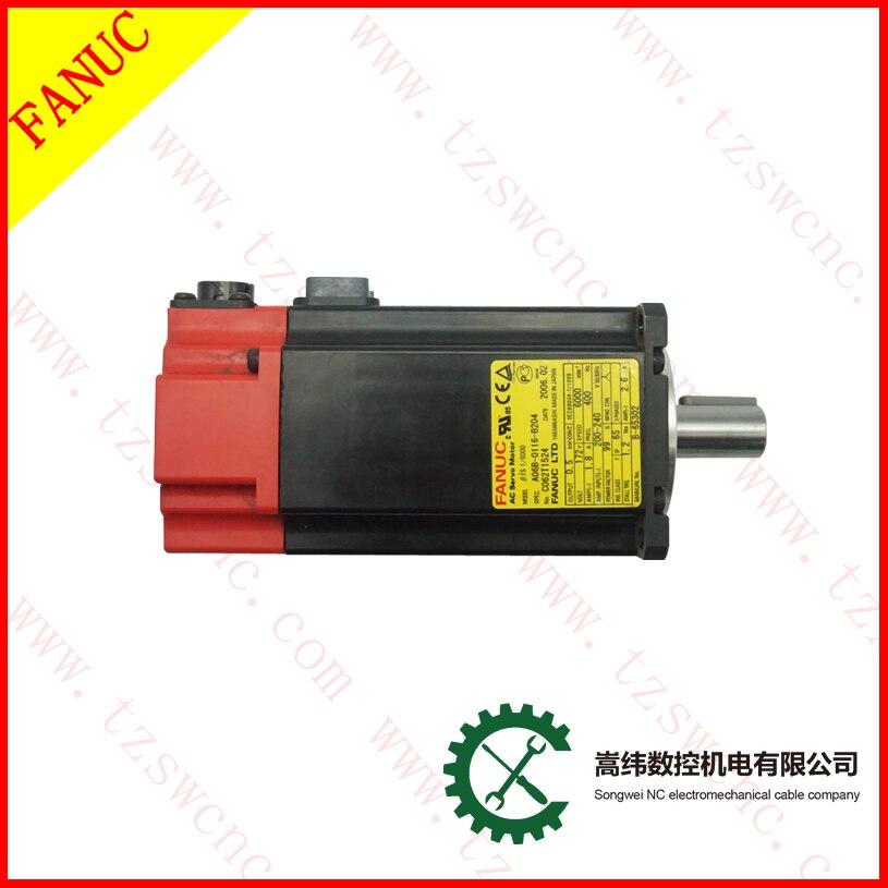 Ventilador A06B-0116-B203 AC servo motor A06B 0116 B203 para máquina cnc