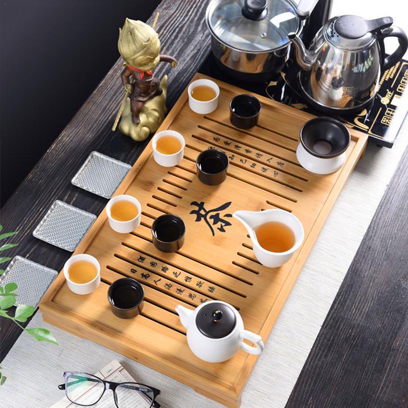 Natural bamboo tea Tools three piece tea Kung Fu Tea