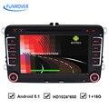 Quad-core 1024*600 Полный Сенсорный Экран VW Android 4.4 Автомобиль DVD GPS DVR для Volkswagen Passat B6 POLO GOLF 5 6 JETTA seat leon skoda