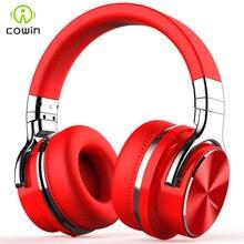 Cowin E7 PRO ANC سماعة رأس مزودة بتقنية البلوتوث اللاسلكية النشطة إلغاء الضوضاء سماعات سماعة رأس بخاصية البلوتوث مع ميكروفون للهواتف