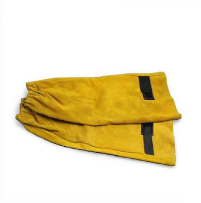 Luva de soldadura Cowleather Gauntlets armband Protetora para Soldagem C91412