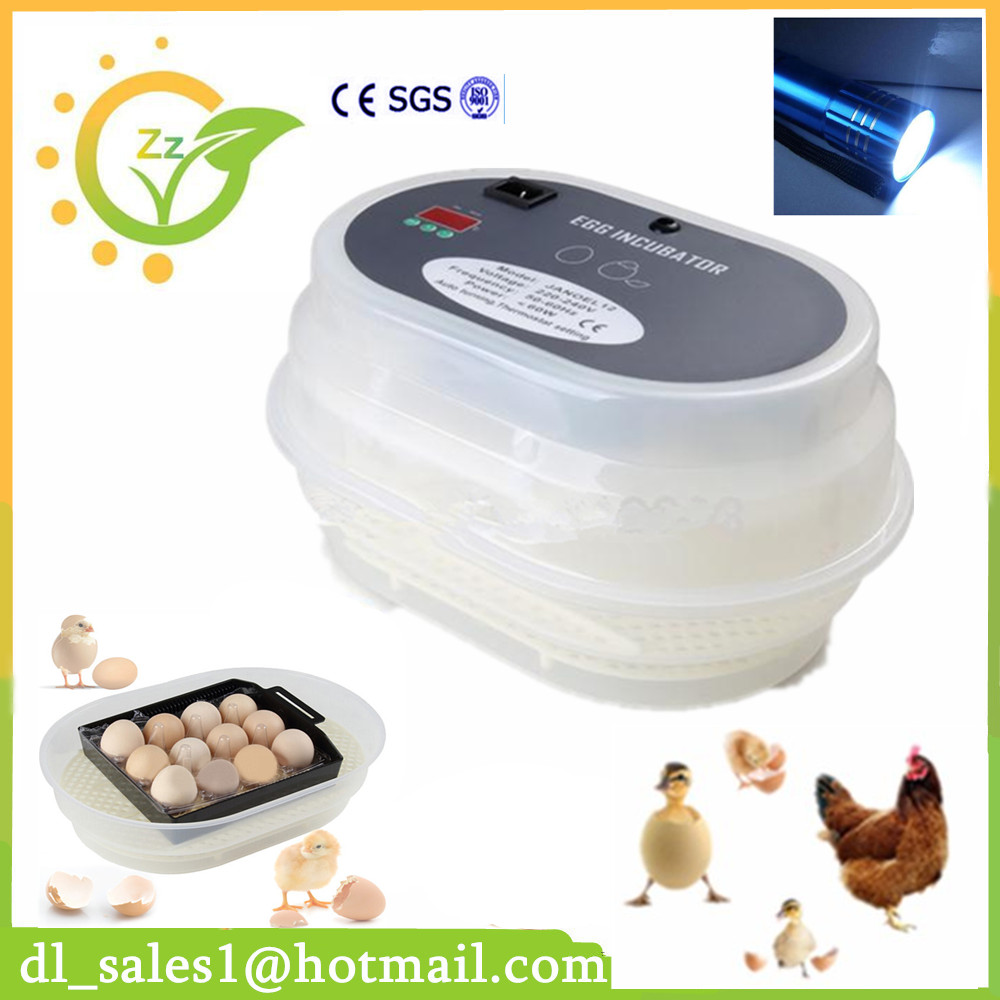 Cheap Poultry Incubators For Sale 12 egg Digital Fully Automatic Turning Mini Incubator Poultry Chicken Duck Bird Hatchery Tool top sale household farm egg incubators 24 egg incubators for led display turner for sale