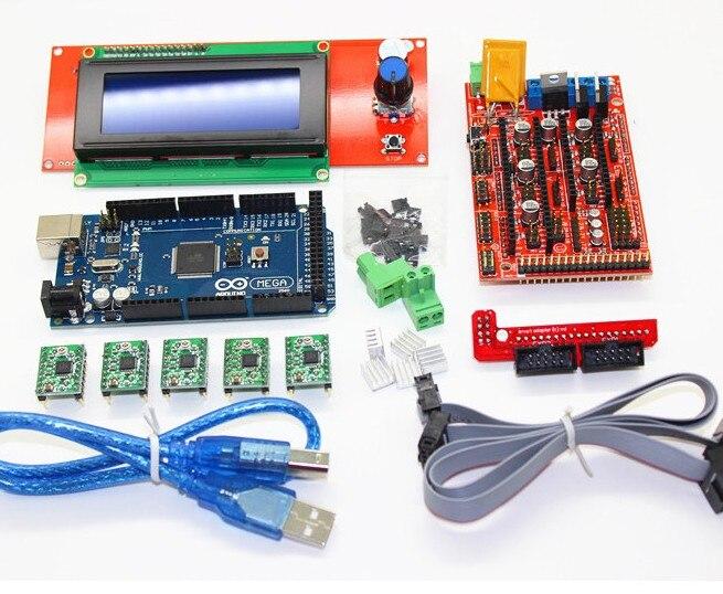 Electronic blocks DIY CNC 3D printer machine control board 2560R3 master +RAMPS 1.4+4988 driver toy parts