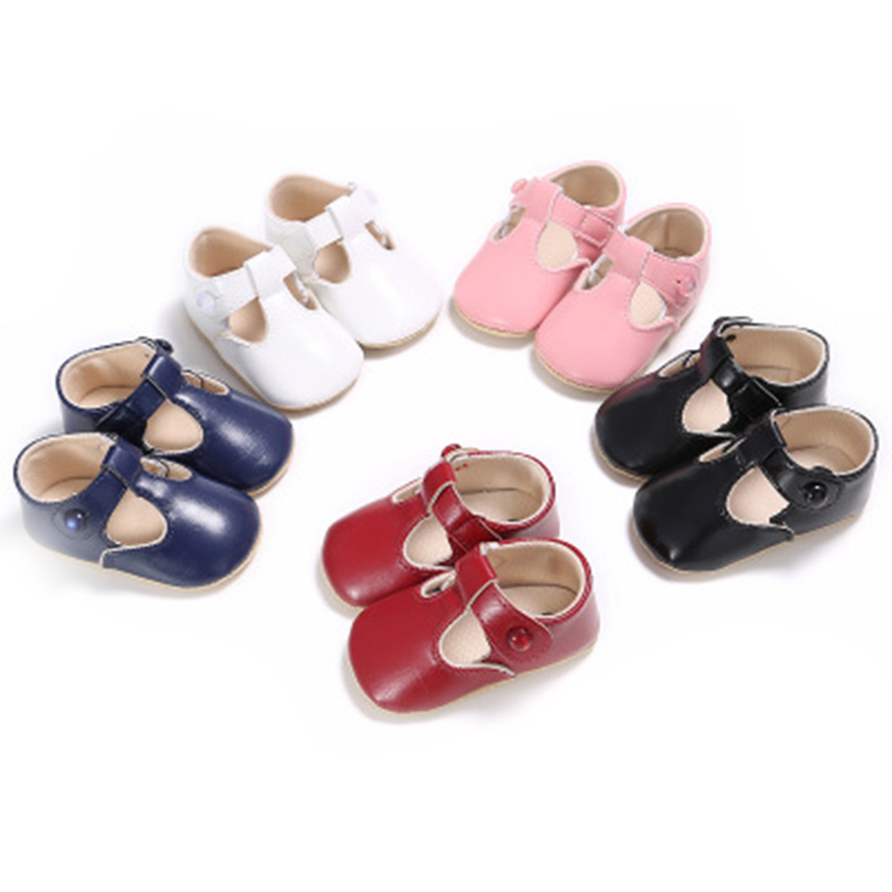 First Walkers Soft Leather Newborn shoes Girls Infant Toddler baby girl princess shoes