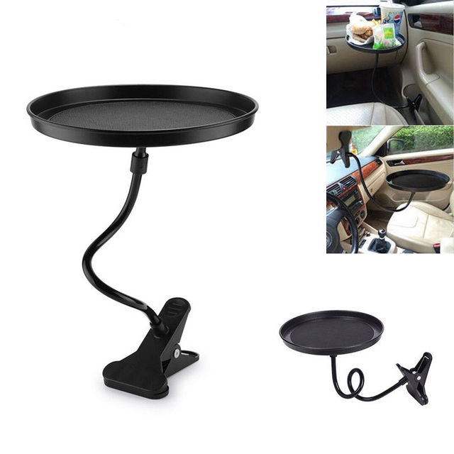 Automobile Swivel Tray Car Accessory Mount/Holder Travel Table/Stand  Food/Drink Fit