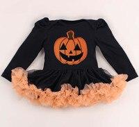 Baby halloween kostüme langarm kinder mädchen strampler dress spitze tutu overall bebe neugeborenen kleidung für party geschenke