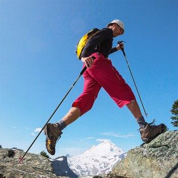 Canne Pliante | Naturel Randonnée Pliable En Fibre De Carbone Sentier Course Pôle Léger Pliant Compact Trekking Bâton De Marche 110 Cm, 120 Cm, 130cm