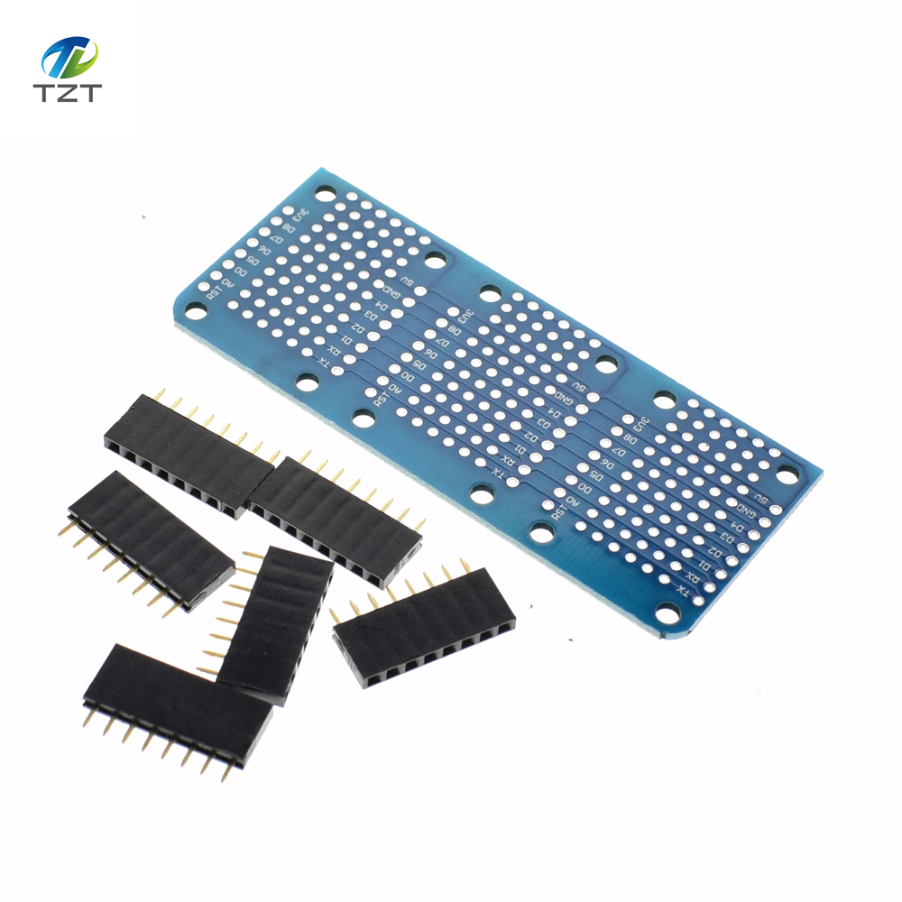 e07f0e6e5a86 Hot Seller Tripler Base V1.0.0 Module Board with Pins D1 Mini Active ...
