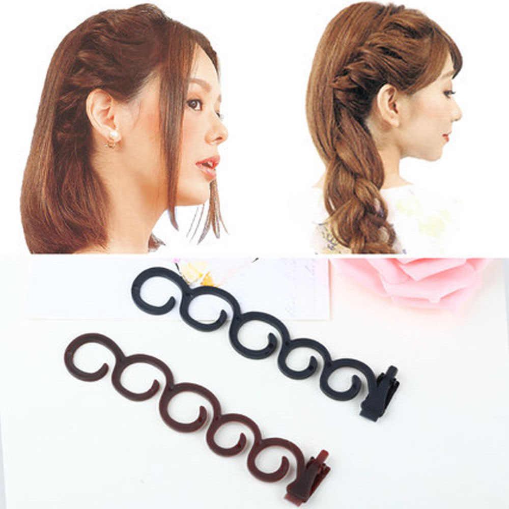 Beauty Hair Tie DIY Braid Tool Holder Clip Hair Accessories Magic Twist Styling