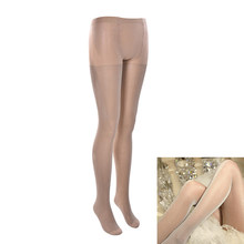 JCAAAP 1pair Women's sexy oil Shiny pantyhose sexy satin Stockings Fitness Leggings yarns sexy lingerie Height 150-175cm S-XL(China)