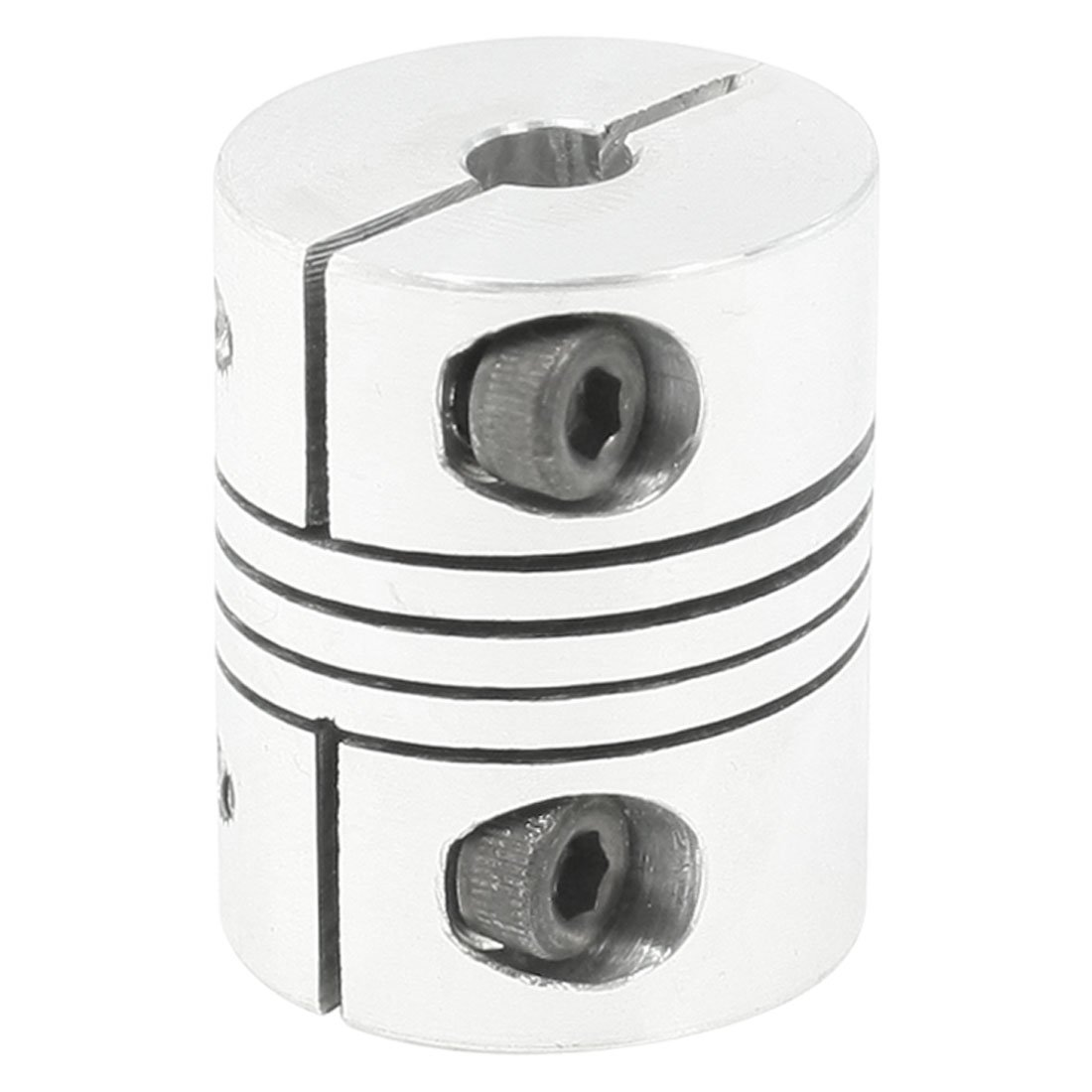 Fevas 1pcs 8X8 D25L30 Aluminium Shaft Plum Blossom Coupling Motor Connector Flexible Shaft Coupling