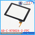 "Original 9.7"" inch Tablet PC Capacitive touch screen touch panel AD-C-970024-2-FPC digitizer glass Sensor Free Shipping"