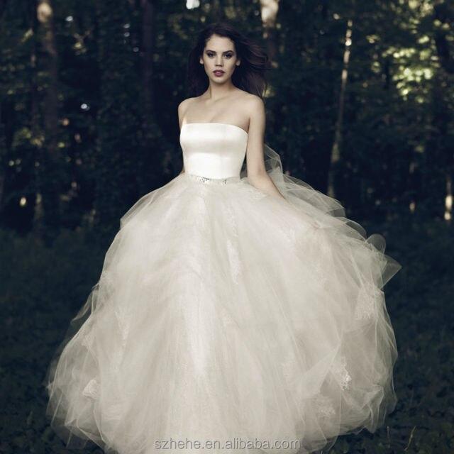 Cw2536 cuento de hadas girls romántica tulle del vestido de bola del ...
