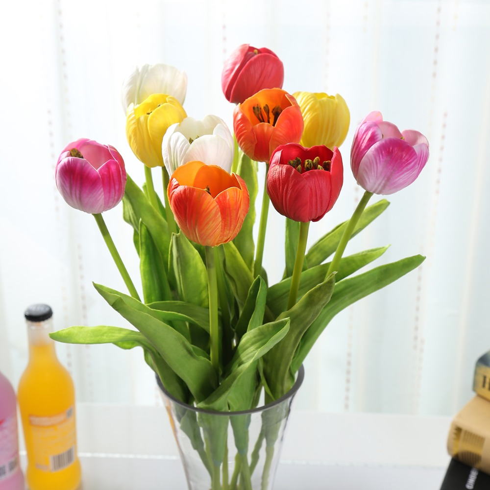 Aliexpress Buy Pu Artificial Flowers Wholesale 188 Single